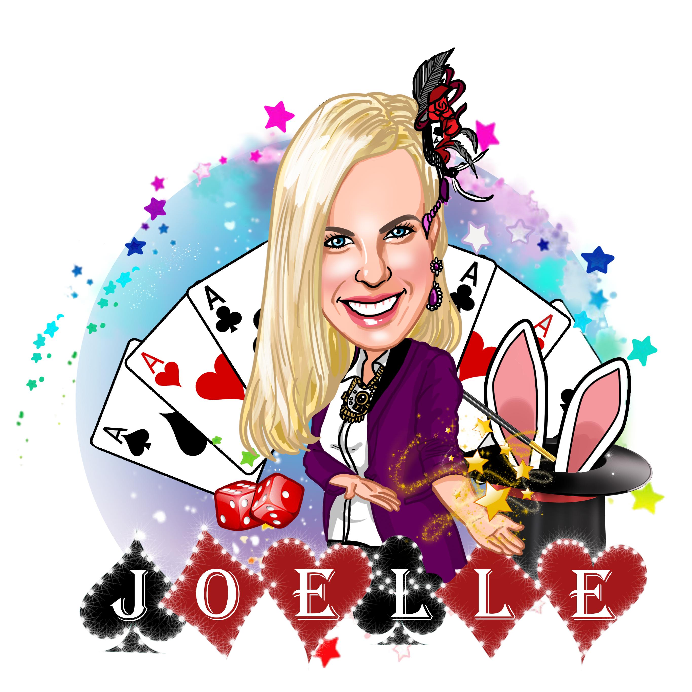 Joelle female illusionist and magician