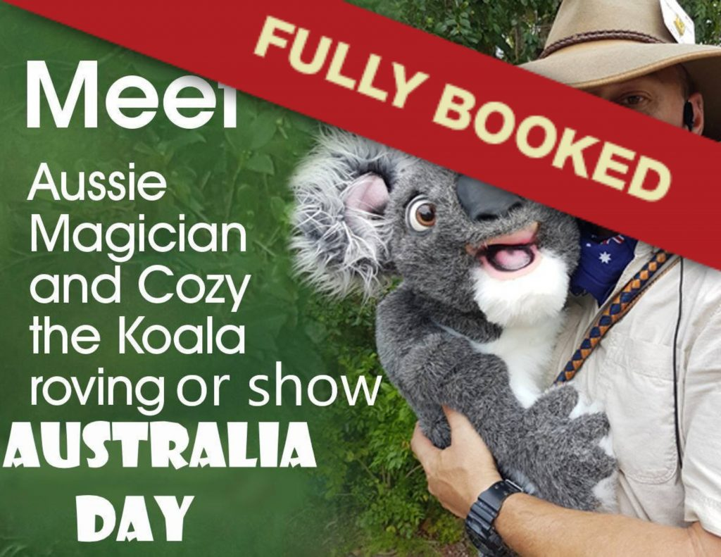 All round Aussie family-friendly humour and magic from close up to stage for all ages.